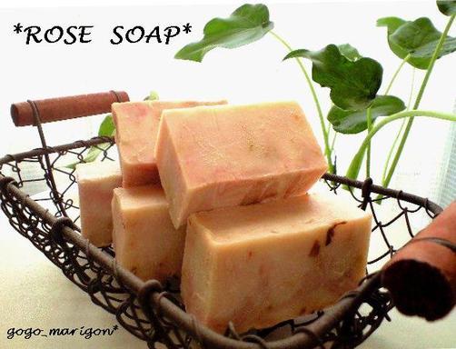 Rose_soap